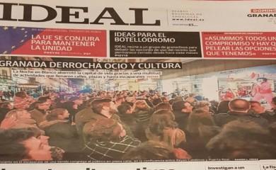 Éxito de la Noche en Blanco de Granada 2017