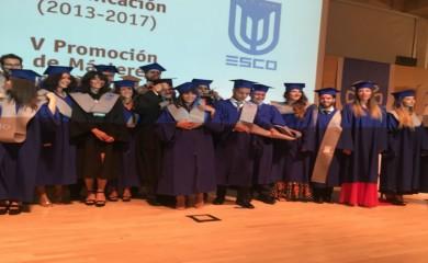 Un año más acompañamos a ESCO en su ceremonia de Graduación